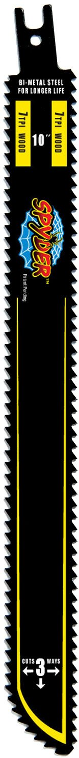 Spyder 200014 7 by 7 TPI Bore-Blade 3-Pack