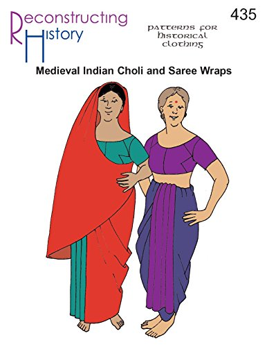 Medieval Indian Choli and Saree Wraps pattern