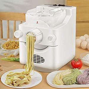 TTLIFE Macchina per Pasta 9 + 3 formati di tagliatelle Macchine per pasta elettriche di grande capacità da 1 libbra