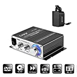 NKTECH 3A Charger Lepy LP-V3S Digital Stereo Audio Amplifier 25W x 2 RMS