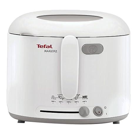 Tefal Uno M FF1231 - Freidora (Solo, Color blanco)
