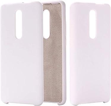 CoverTpu Funda Xiaomi mi 9T Silicona Blanco Funda Líquido de Silicona Gel TPU Flexible Carcasa para Xiaomi mi 9T/Redmi K20/K20 Pro Resistente Protectora Tapa Caso Case Blanco: Amazon.es: Electrónica