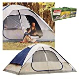 Coleman 2000006233 Glacier Creek 14′ x 10′ 8 Person 2 Room Camping Tent
