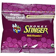 Honey Stinger Chews : Pomegranate Passion 50 g (order 12 for trade outer)