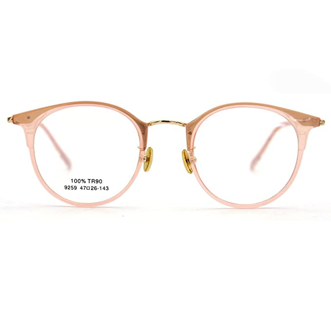 eb5f532691 Image Unavailable. Image not available for. Color  Natwve Co TR Fashion  Glasses Women Eyeglasses frame Vintage ...