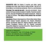 Wellements Organic Baby Chest & Foot Rub, 2 Fl