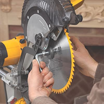 DEWALT DWS780 12-Inch Double Bevel Sliding Compound Miter Saw from Dewalt