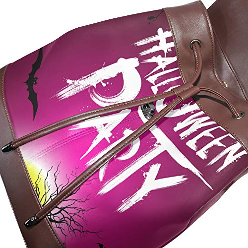 Talla Mochila Mujer Multicolor Para Piel Dragonswordlinsu De Única Bolso wTH0xqnBS