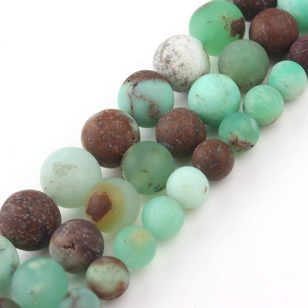 Song Xi Matte Aquamarine Beads 8mm Natural Stone Beads for Jewelry Making 15inch Gemstone Beads
