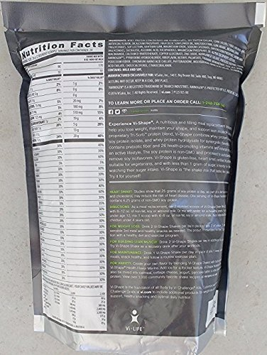 ViSalus Nutritional Shake Mix Sweet Cream Flavor 22 oz (4 Bags, 96 meals) by ViSalus (Image #1)