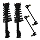 Rear - Both (2) Rear Driver & Passenger Side Complete Strut & Spring Assembly with (2) Sway Bar End Links - Rear