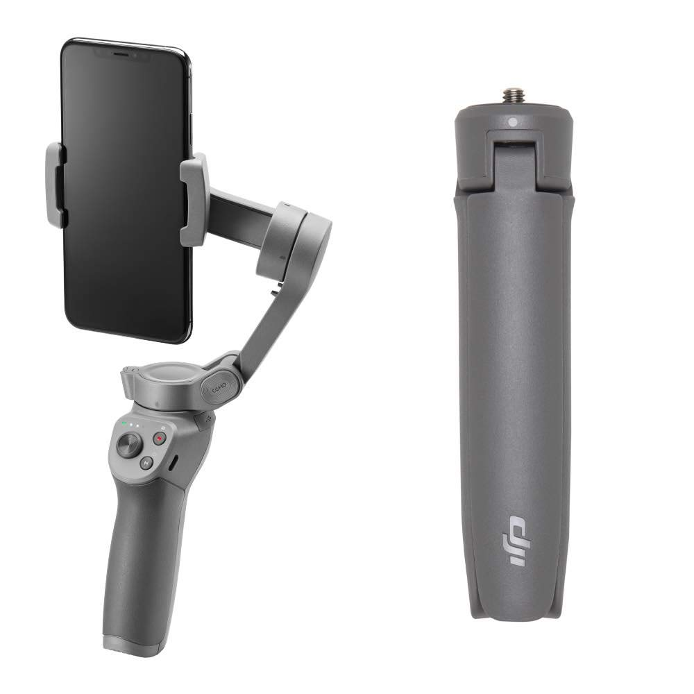 DJI OSMO Mobile 3 Combo Lightweight and Portable 3-axis Handheld Gimbal Stabilizer Compatible with iPhone and Android Phones by DJI