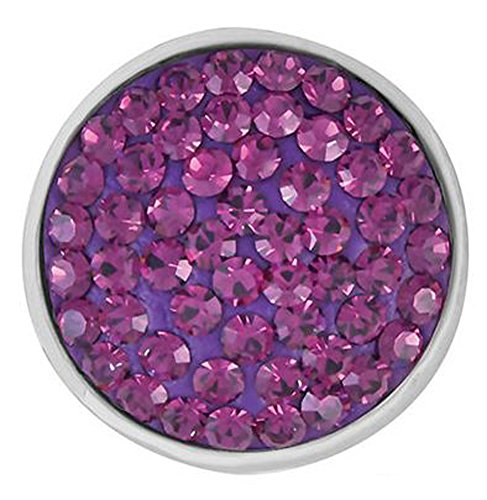 The Good Bead Ginger Snaps Amethyst-Toned Sugar SNAP SN32-04 Interchangeable Jewelry Snap ()