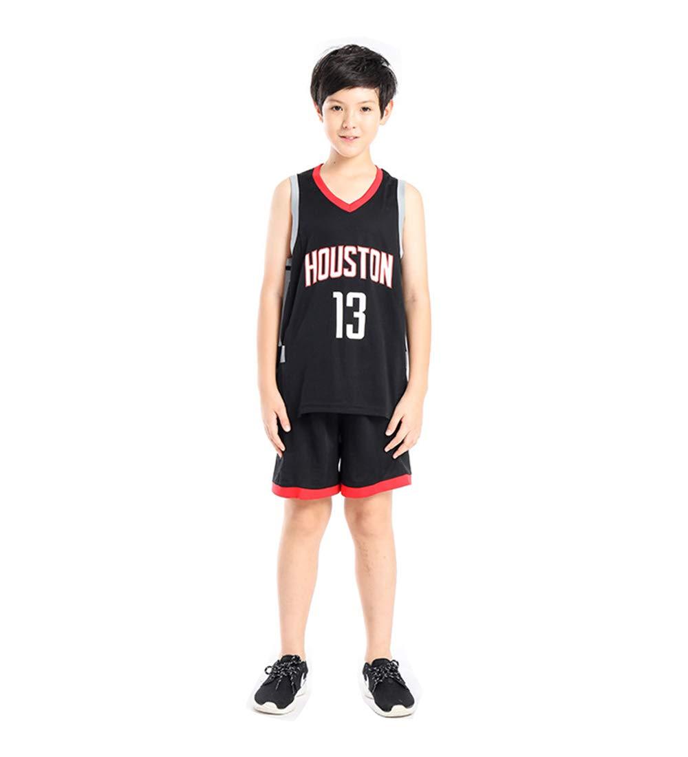 Niño NBA Houston Rockets # 13 Harden Ropa de Baloncesto: Amazon.es ...
