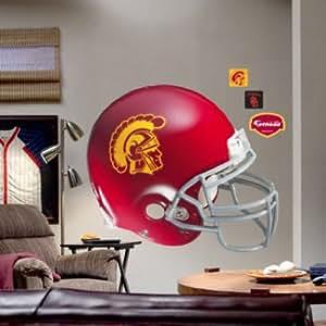 Amazon.com : USC Trojans Helmet Fathead Wall Sticker