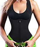 Sauna Vest Suit Neoprene Trainer Top Sweat Slimming Shirt for Weight Loss Workout