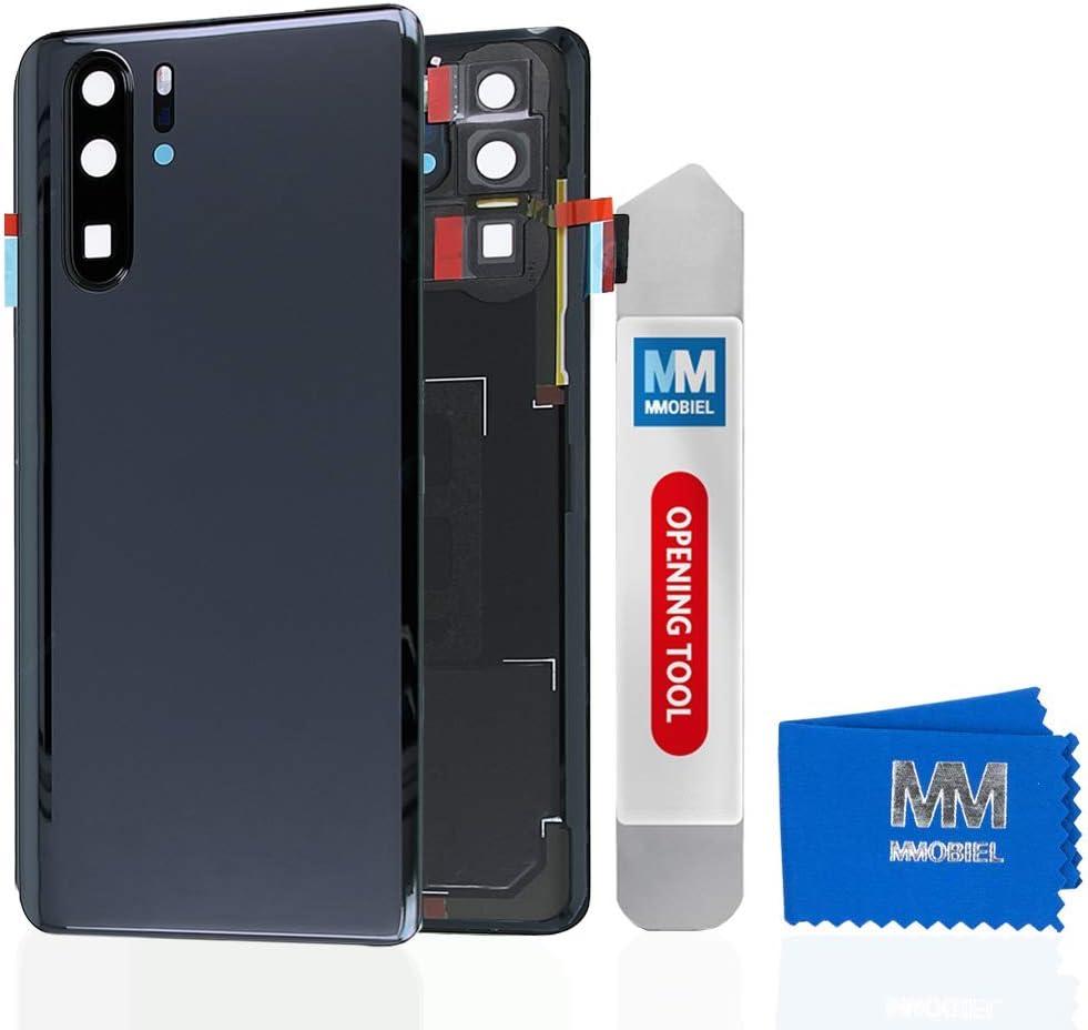 Tapa Trasera Cover De Bateria Para Huawei P30 Pro Negra