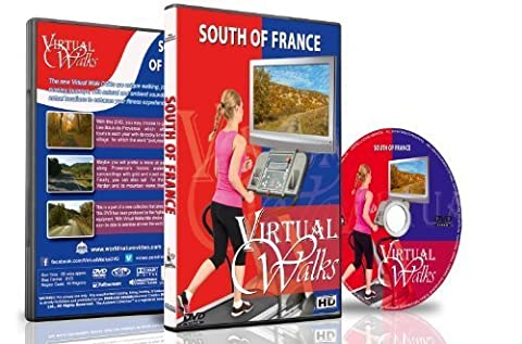 Virtual Walks - South Of France for indoor walking, treadmill and cycling workouts (Virtual Fitness Dvds)