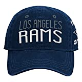 NFL by Outerstuff NFL Los Angeles Rams Infant My First Slouch Hat Dark Navy, Infant One Size