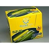 100Pcs(1Box) Dia:2.7X3.2mm L# Dry Type Snap Clip On Fishing Rod Top Glow Stick size 50 packs 100 sticks