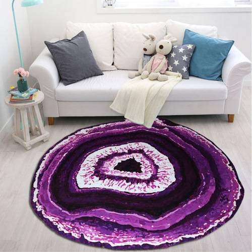 Price comparison product image Products Non Slip Rug Pad for Runner Rugs On Hardwood Floors Extra Strong Grip Growth Ring Pattern Bathroom Carpet Floor Mat Keeps Your Rugs Safe and in Place (Purple)