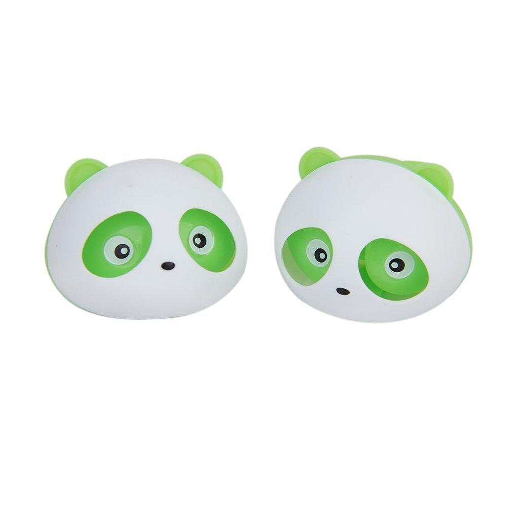 Ivebetter verde panda-shape deodorante per auto profumo con clip–pezzi