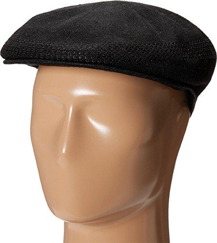 STACY ADAMS Men's Knit Ivy Cap Black LG/XL