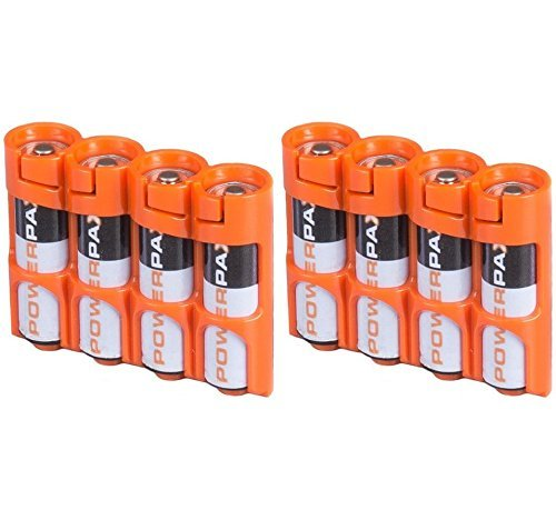 Powerpax Slim Battery Caddy Orange product image