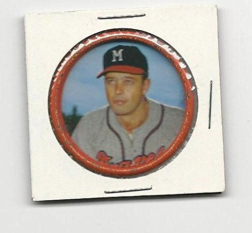 Baseball MLB 1963 Salada Coins #28 Eddie Matthews NM