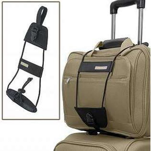 Carry more with less effort with the Bag Bungee. It attaches easily to the handle system of any wheeled luggage item, including single pole or double pole handles and secures a second bag to the handle. The two items move as one. For more than 35 years, Travelon has been making travel easier and safer with products that provide protection, peace-of-mind, safety, security and organization