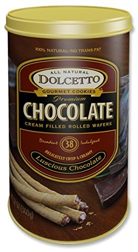 2 Pack - Dolcetto Chocolate Wafer Cookies by Dolcetto