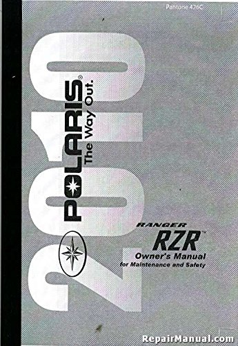 polaris ranger owners manual - 1
