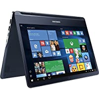 Samsung - Notebook 9 spin 13.3 Touch-Screen Laptop - Intel Core i7 - 8GB Memory - 256GB Solid State Drive - Pure Black