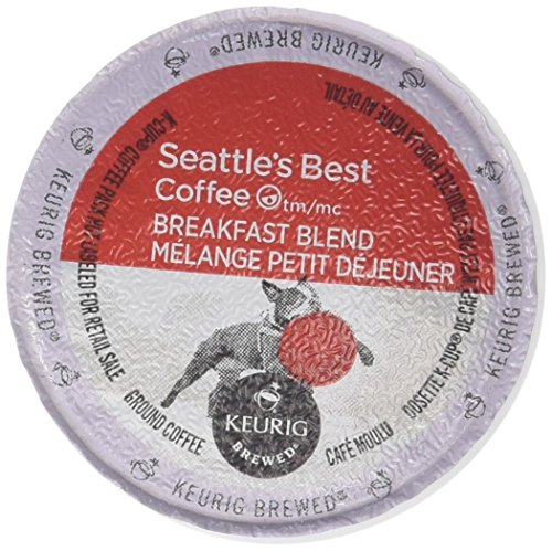 Seattle's Best, Single Serve K-Cup Coffee, 3.5oz Box (Pack of 3) (Choose Flavors Below) (Breakfast - Seattle Shopping