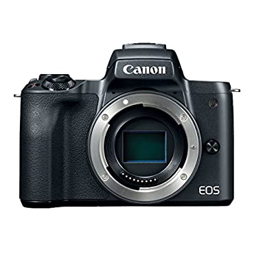 Canon Mirrorless Camera Body [EOS M50] with 4K Video, 24.1 Megapixel (APS-C) CMOS Sensor Black