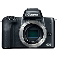 Canon EOS M50 Mirrorless Camera Body w/ 4K Video (Black)