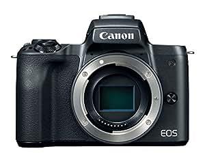 Canon Mirrorless Camera Body [EOS M50] with 4K Video, 24.1 Megapixel (APS-C) CMOS Sensor - Black