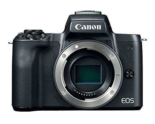 Canon EOS M50 Mirrorless Digital Vlogging Camera with EF-M15-45mm lens and EF-M 55-200mm lenses with 4K Video and Touch LCD Screen, Black