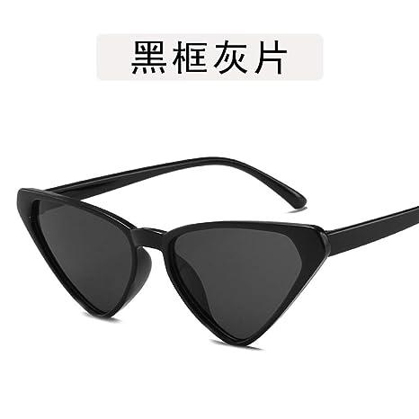 Yangjing-hl Gafas Gafas ópticas Gafas Ojos de Gato Gafas de ...