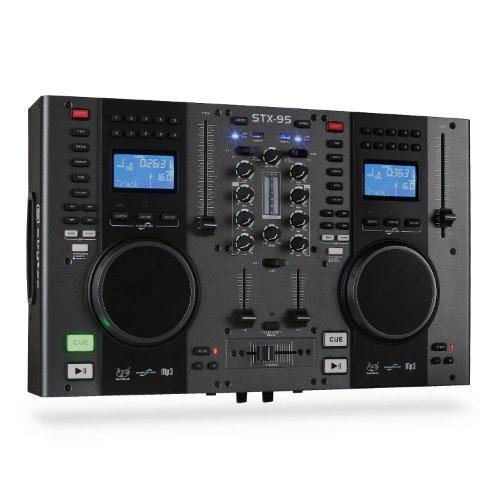 DJ-Controller Skytec STX-95 Doppel-CD-Player USB-MP3