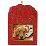 Hallmark Keepsake 2017 Faithful Friend Forever Pet Bereavement Photo Holder Dated Christmas Ornament