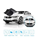 Opest 22 Re Remover Cloth, Scratch Repair Kit Easy to Use Saves Time, Multipurpose Rearview Mirror Anti-rain Drop Car Paint and Headlight Deoxidation, 7.5 x 13.8 x 9.1 inches, Colorful