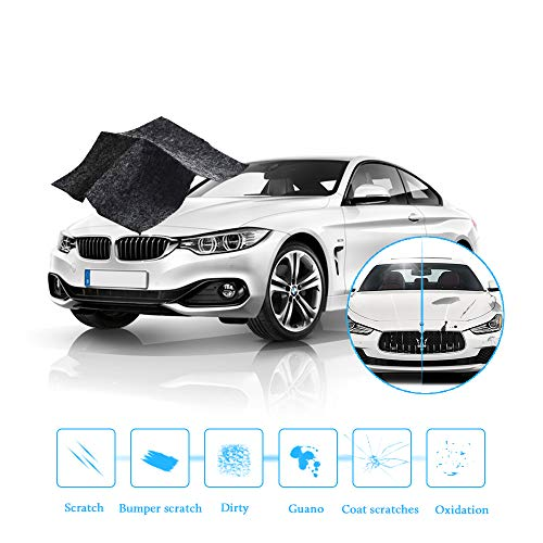 Car Scratch Remover Cloth, Scratch Repair Kit Easy to Use Saves Time, Multipurpose Rearview Mirror Anti-rain Drop Car Paint and Headlight Deoxidation Eddy Scratch Dirt Remover