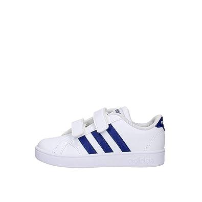 the latest 1c8b2 70ab9 adidas Baseline Cmf Inf F36239 Scarpa Sneaker Lifestyle Bimbo Bianco Blu  (24 EU)