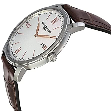Baume Mercier Men s BMMOA10144 Classima Analog Display Quartz Brown Watch