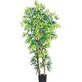 Wholesale 5 Ft Fancy Style Bamboo Silk Tree, [Decor, Silk Flowers]