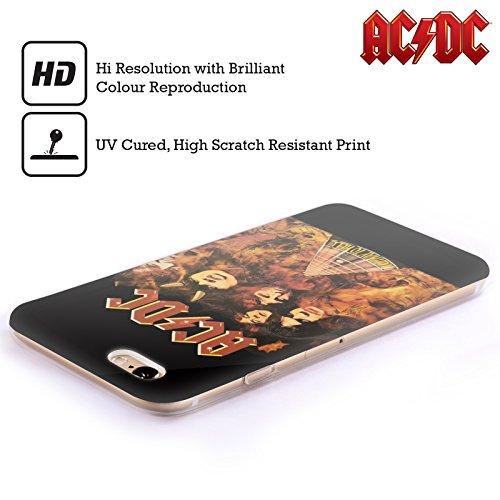 Officiel AC/DC ACDC Route Tire Au Diable Couverture D'album Étui Coque en Gel molle pour Apple iPhone 5c