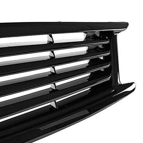 Black Front Radiator Grille For Infiniti 2011-2012 G25 09-13 G37 2015 Q40 Sedan