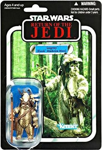 Star Wars: The Vintage Collection Action Figure VC55 Logray 3.75 Inch -