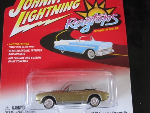 1967 Camaro Convertible Johnny Lightning Limited Edition Ragtops Series 2 by Playing Mantis